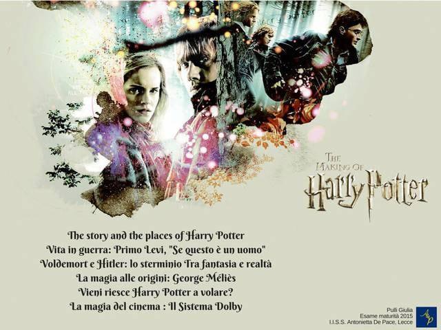 Mappa concettuale su Harry Potter