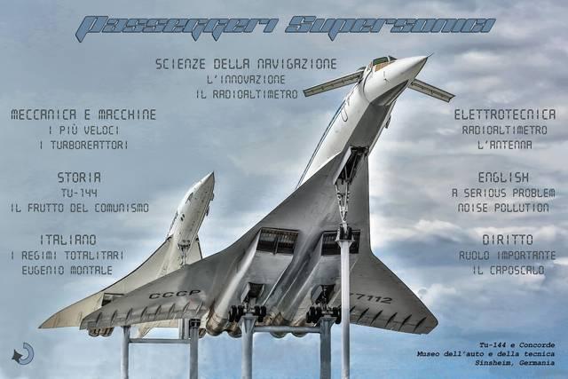 Mappa concettuale sui passeggeri supersonici