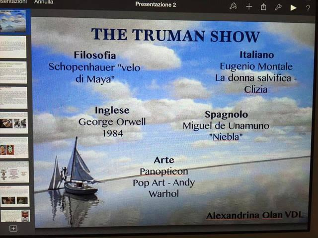 Mappa concettuale: The truman show
