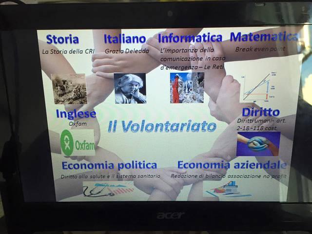 Mappa concettuale sul volontariato
