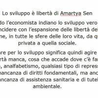 Lo sviluppo è libertà di Amartya Sen