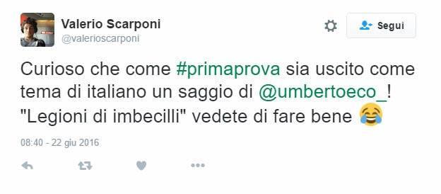 Saggio di Umberto Eco