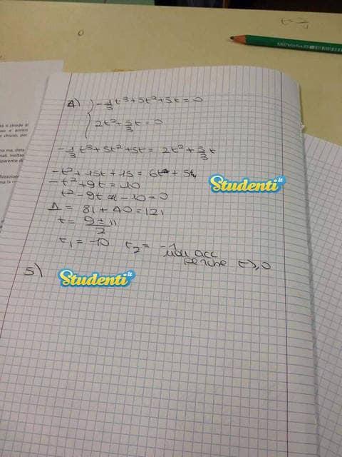 Seconda prova Maturità 2015: le soluzioni della simulazione di matematica Pag 1
