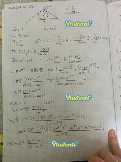 Seconda prova Maturità 2015: le soluzioni della simulazione di matematica Pag 13