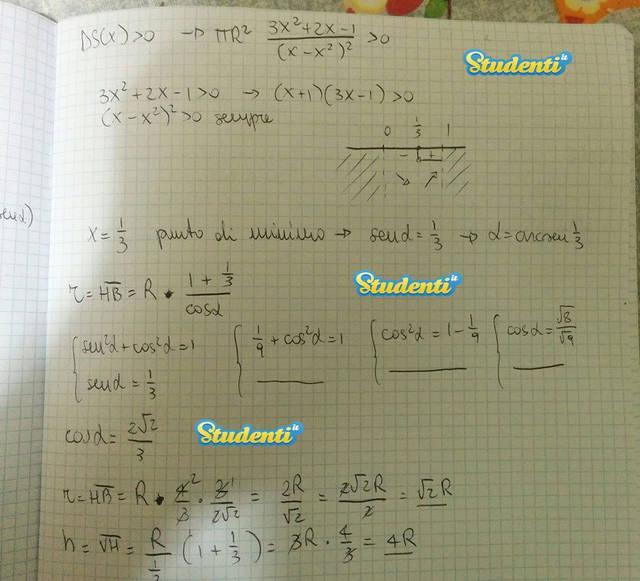 Seconda prova Maturità 2015: le soluzioni della simulazione di matematica Pag 14