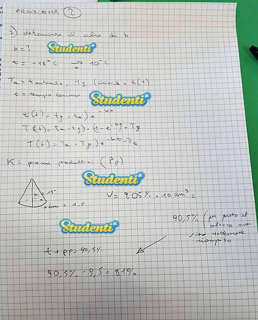 Soluzione problema 2 simulazione matematica | Simulazione ...