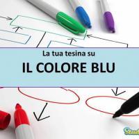 Tesina su: Il colore blu