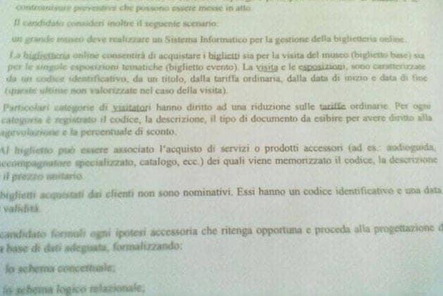 Traccia del tecnico commerciale seconda prova maturità 2013