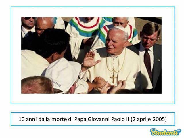 Morte di Papa Giovanni Paolo II