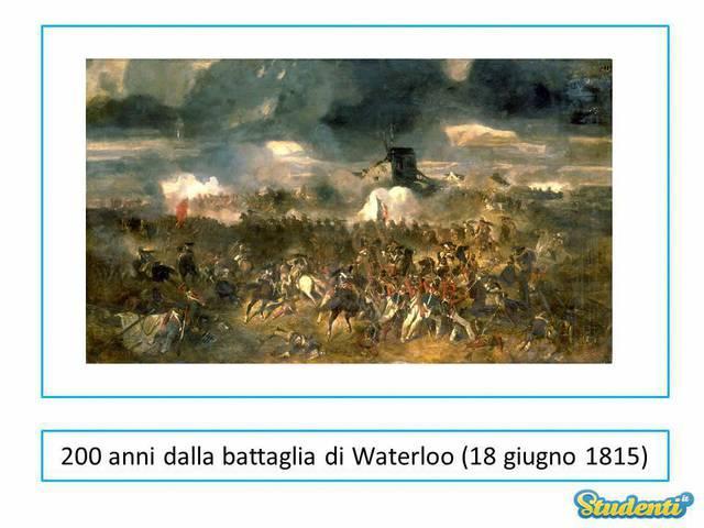 Disfatta di Napoleone a Waterloo
