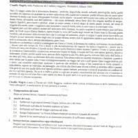Svolgimento traccia per l'analisi del testo su Claudio Magris