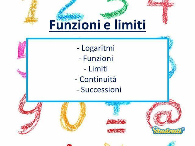Funzioni e limiti