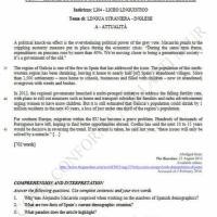 Seconda prova inglese, attualità: comprensione del testo (parte 2)