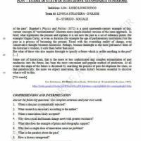 Seconda prova inglese, storico-sociale: comprensione del testo (parte 2)