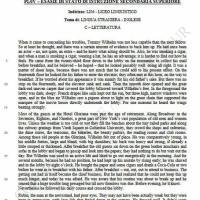 Seconda prova inglese, letteratura: comprensione del testo (parte 1)