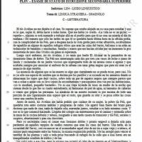 Seconda prova spagnolo, letteratura: comprensione del testo (parte 1)