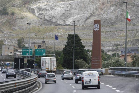 Monumento in memoria di Falcone