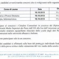 Medicina: il bando dell'Università Cattolica di Tirana