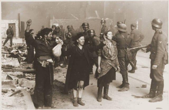 Rastrellamenti nel ghetto di Varsavia