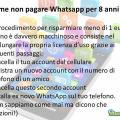 Avere Whatsapp gratis