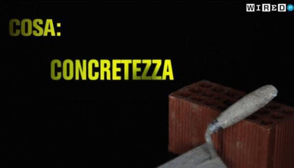 Seconda cosa: concretezza
