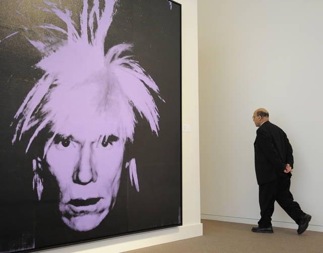 Autoritratto di Andy Warhol