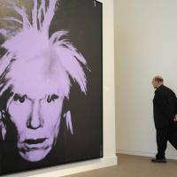 Autoritratto di Andy Warhol