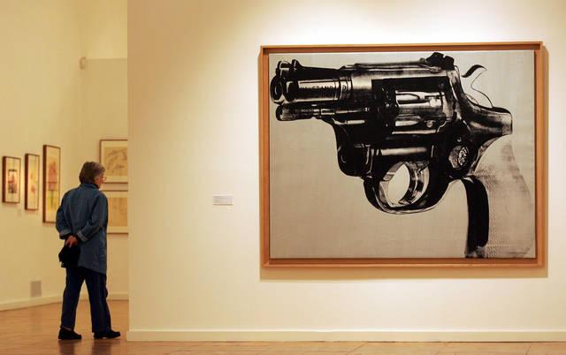 Gun di Andy Warhol