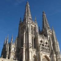 Architettura gotica della Cattedrale di Burgos in Spagna