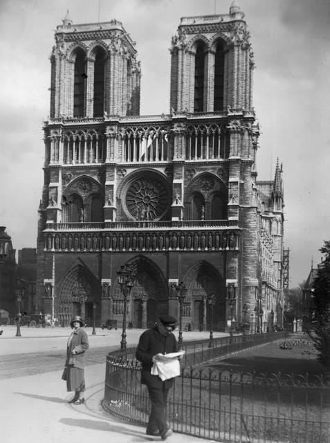 Notre Dame: porte in stile gotico francese