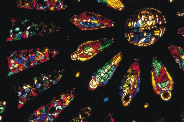 Vetrata della Cattedrale di Leòn in Spagna