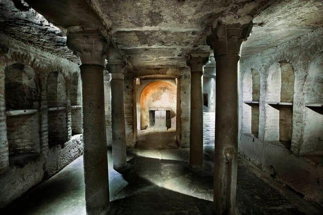Catacombe a Roma
