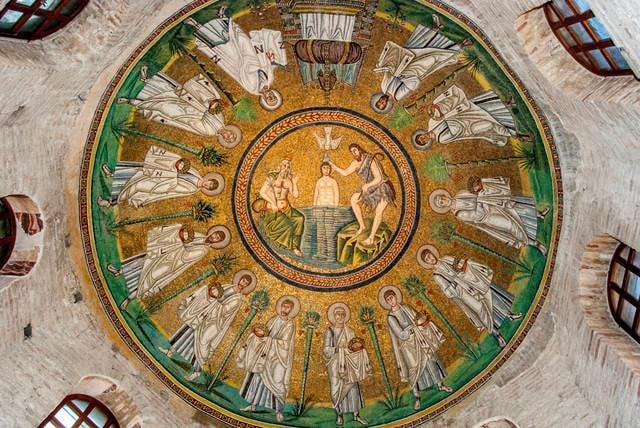 Mosaico della Basilica San Vitale a Ravenna