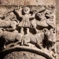 Capitello romanico della Chiesa Sant'Ambrogio