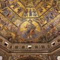Mosaico romanico del Battistero a Firenze