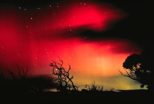 Aurora boreale in Australia