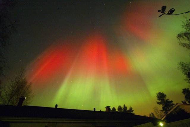 Tempesta solare in Finlandia