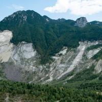 Monte Toc: luogo della frana