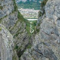 Paese di Longarone: completamente distrutto dal disastro del Vajont del 1963