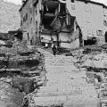 Villaggio dopo il crollo della diga del Vajont