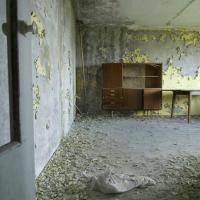 Casa abbandonata dopo il disastro di Chernobyl