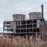 Disastro di Chernobyl: fabbrica di raffreddamento