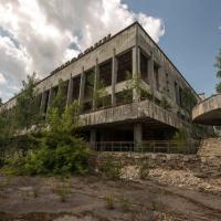 Chernobyl: struttura edile abbandonata