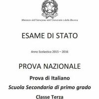 Esame terza media: le domande di Italiano della prova invalsi 2016