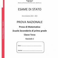 Prova Nazionale Invalsi di matematica 2014