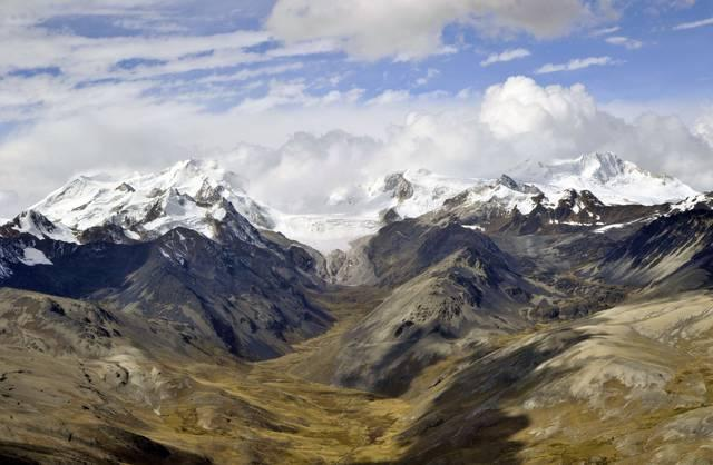 Le Andes in Bolivia
