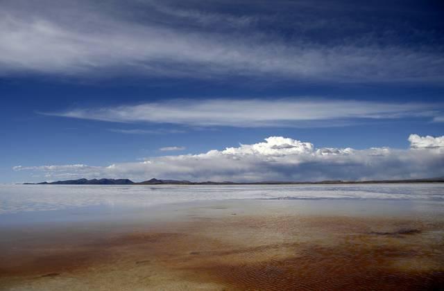 Salar de Uyuni in Bolivia