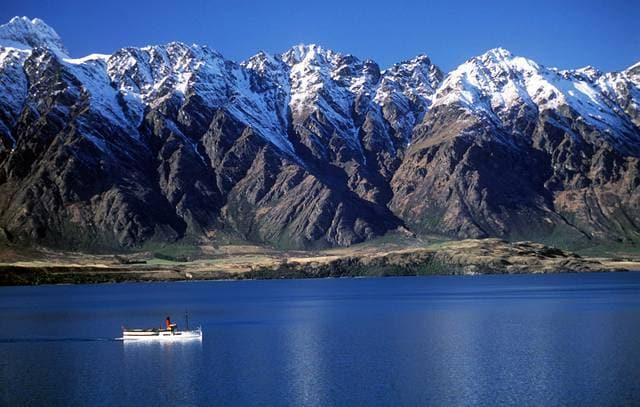 Lago Wakatipu in Queenstown