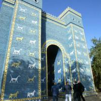 Ishtar: porta resturata di Babilonia