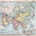 Mappa dell'Asia antica